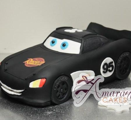 3D Lightning McQueen - Amarantos Cakes Melbourne