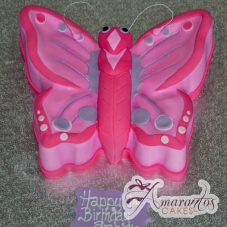 2D Butterfly - Amarantos Cakes Melbourne