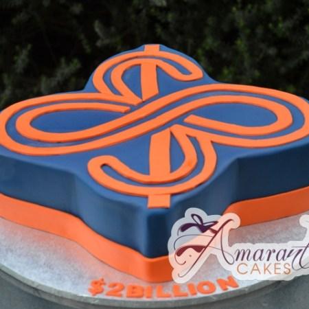 Company logo cake – NC507