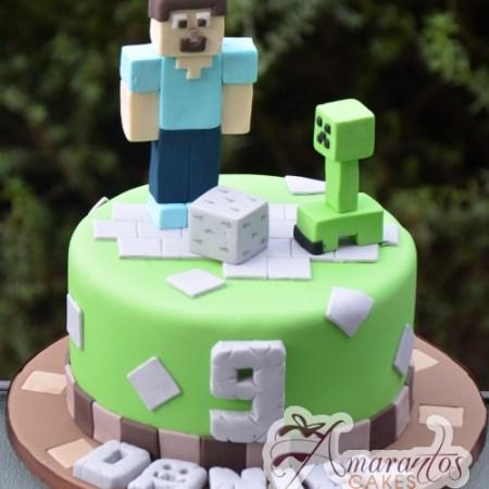 Minecraft cake- NC537