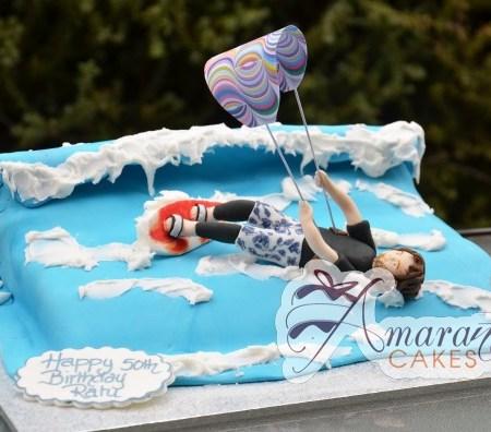 Kite Surfer cake – NC546
