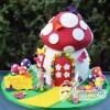 3D Fairy House Cake - Amarantos Designer Cakes Melbourne