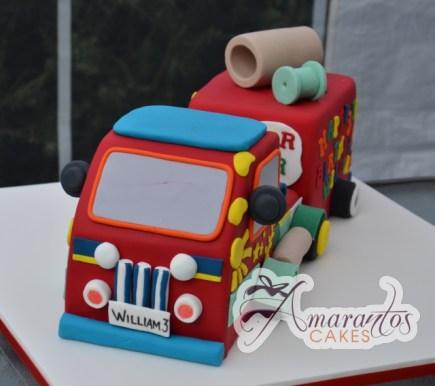 3D Mister Maker Truck Cake - Amarantos Custom Made Cakes Melbourne