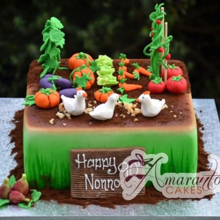 Vegetable Garden Cake – NC593