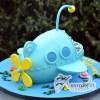 3D Octonauts Ship Cake - Amarantos Custom Made Cakes Melbourne