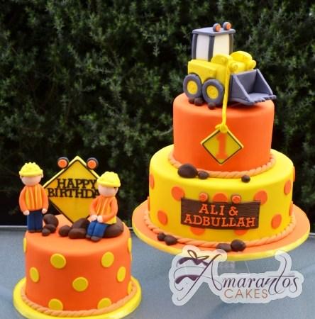 Construction Site Cakes - Amarantos Designer Cakes Melbourne