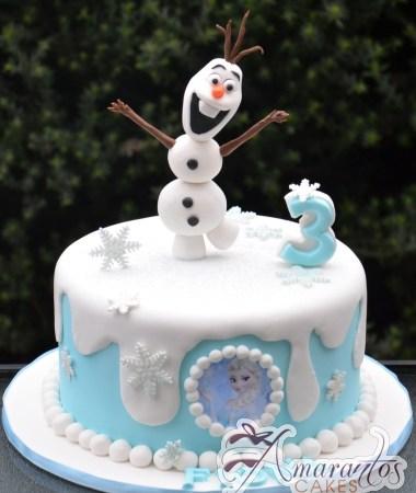 Base cake with Olaf – NC626
