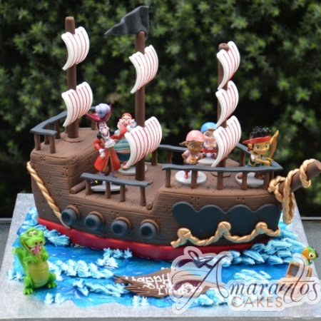 3D Pirate Ship with Jake the Pirate – NC631