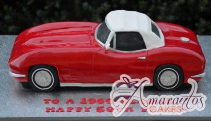 3D Corvette Cake - NC638 - Amarantos Celebration Cakes Melbourne