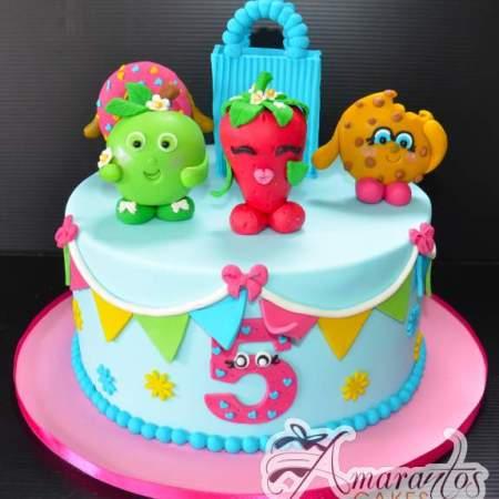 Shopkins cake – NC650