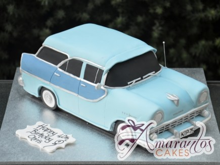3D Holden Car Cake - Amarantos Custom Made Cakes Melbourne