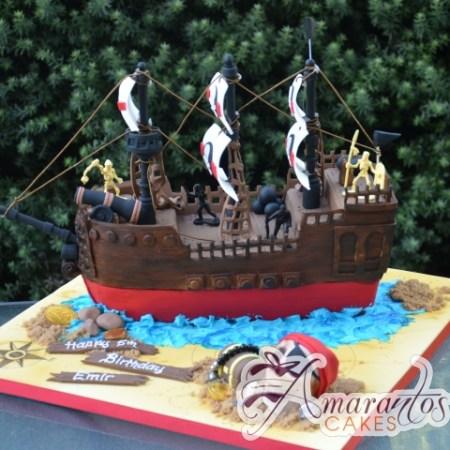 3D Pirate Ship – NC663