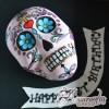 2D Mexican Skull - Amarantos Designer Cakes Melbourne