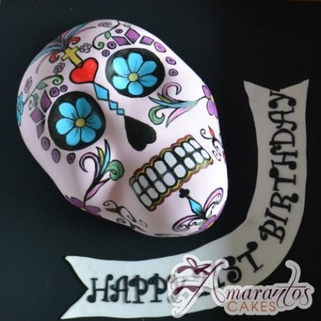 2D Mexican Skull – NC679