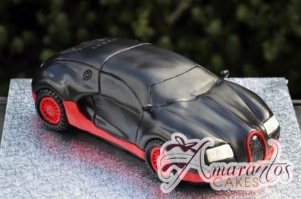 3D Bugatti Veyron Car Cake - Amarantos Custom Made Cakes Melbourne
