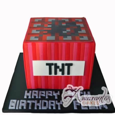 Minecraft cake – NC701