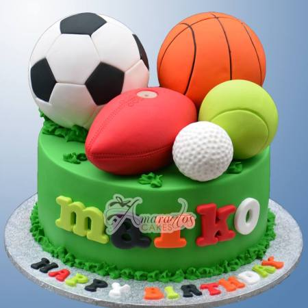 Base with Sports Balls – NC726