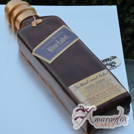 Whiskey Bottle Cake – NC73