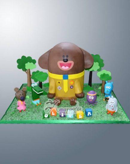 Hey Duggee Themed Cake NC740 – Amarantos Designer Cakes Melbourne
