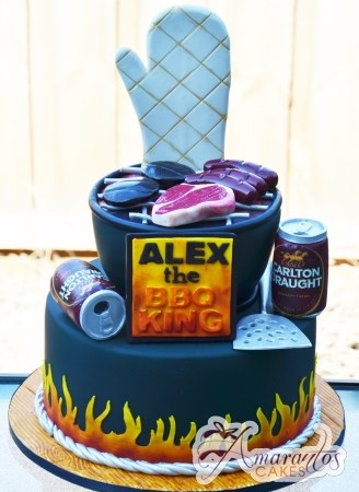Two tier BBQ theme- NC794
