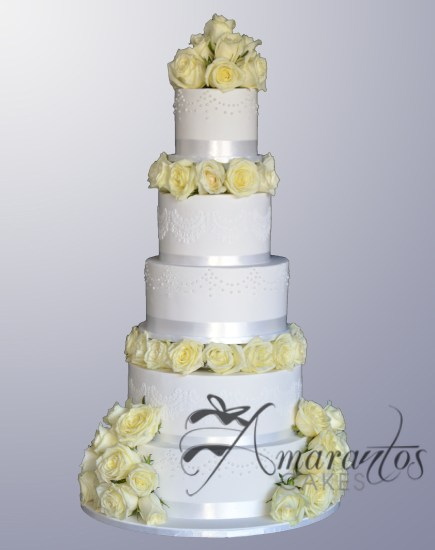 Five tier Wedding Cake WC111