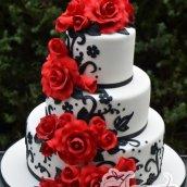 Three Tier Cake - - Amarantos Designer Cakes Melbourne