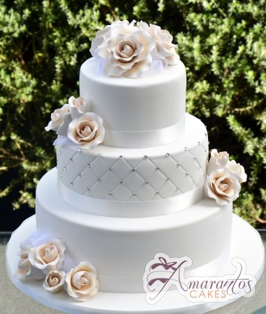 Three tier with Roses – WC230