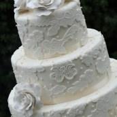 Three Tier Wedding Cake - Amarantos Designer Cakes Melbourne