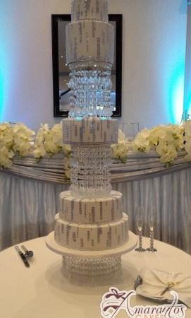Six Tier Cake - Amarantos Cakes Melbourne