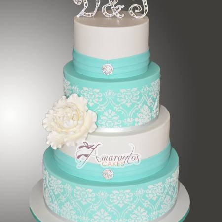 Four Tier Wedding Cakes