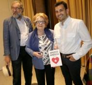 Pedro Soler, María Teresa Cervantes y Manuel Madrid, en la presentación de 'Amarás América' en Cartagena. Foto de José María Rodríguez publicada en La Verdad de Cartagena