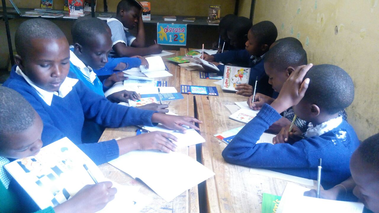 Ongoing Library lesson