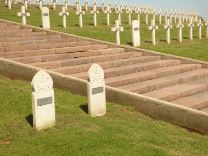 Christian, Moslem and Jewish graves together