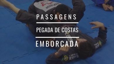 Aprenda a fazer a passagem emborcada no jiu jitsu