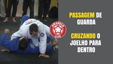 Como passar a guarda cruzando o joelho no jiu-jitsu