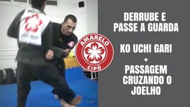 Aprenda a derrubar e passar a guarda no jiu-jitsu