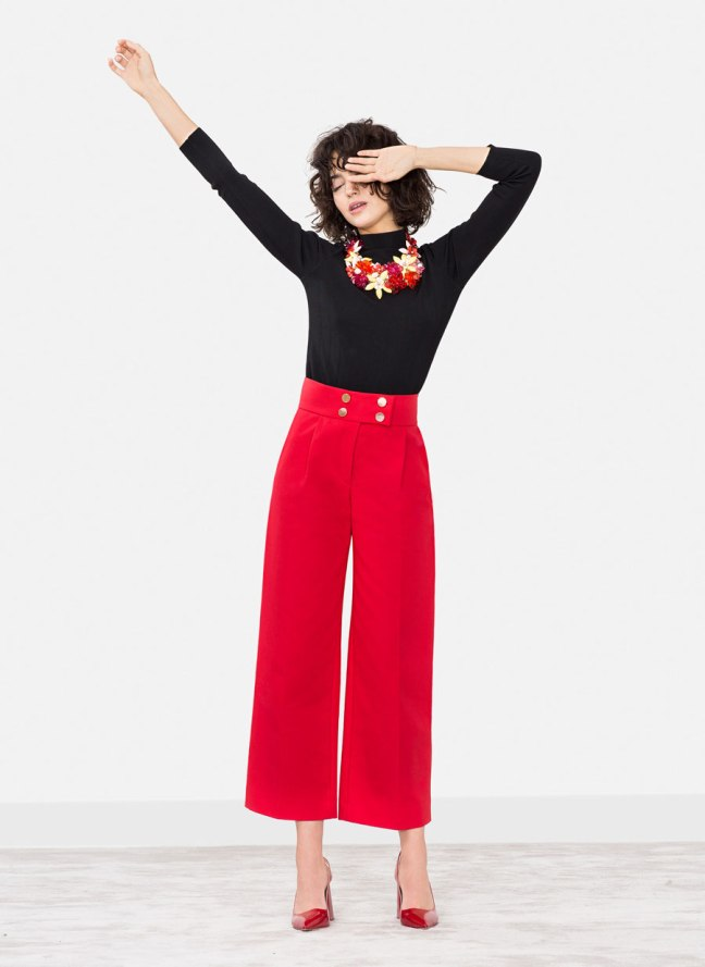 culotte rojo uterque