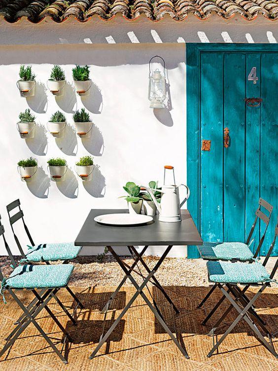 decoración para terrazas de verano multiusos