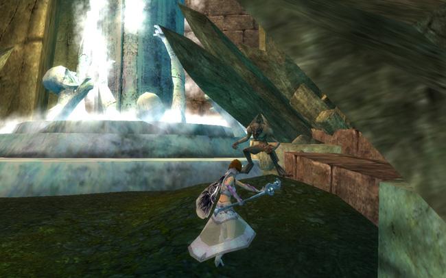 My Elementalist Fights a Gargoyle