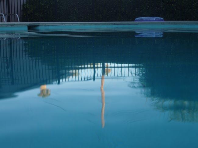 California Pool at Twilight