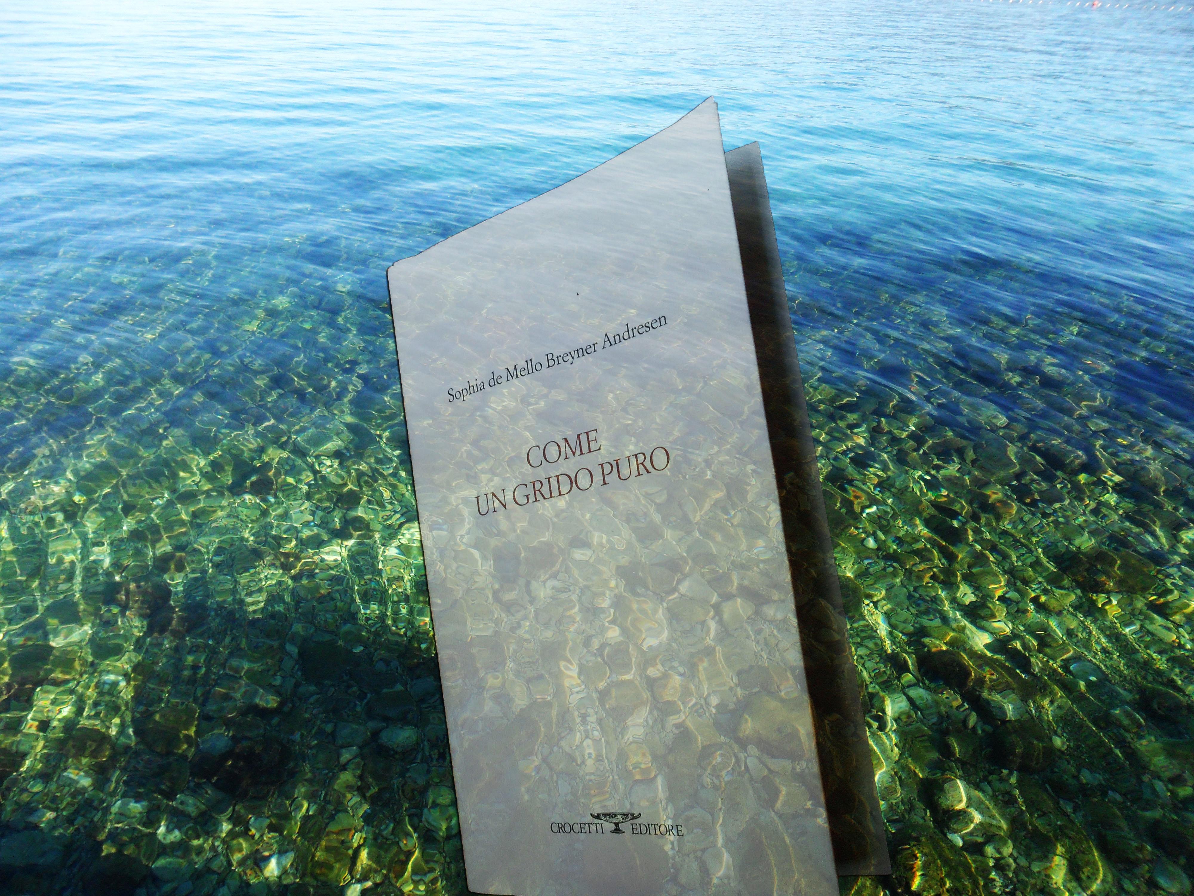 """Sophia de Mello Breyner Andersen, """"Come un  grido puro"""", Crocetti 2013"""