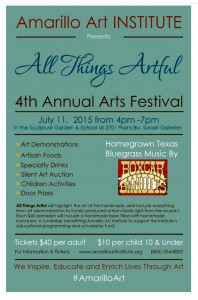 All Things Artful - 4th Annual Arts Festival