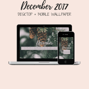 Freebie: December Desktop + Mobile Wallpaper 10