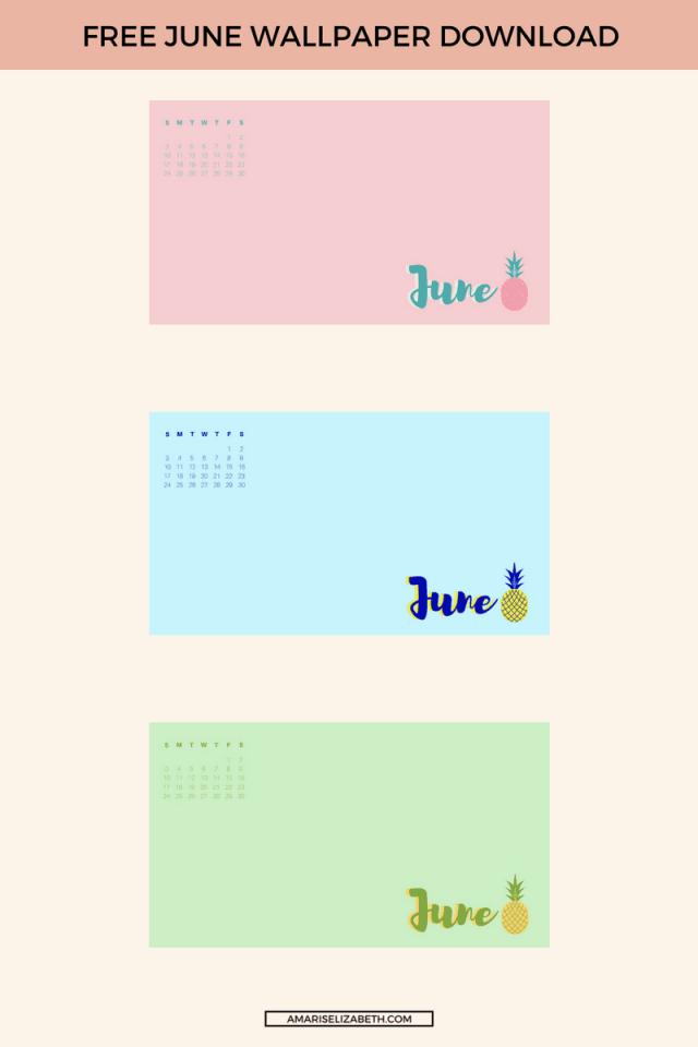 Freebie: June Desktop Wallpaper 1