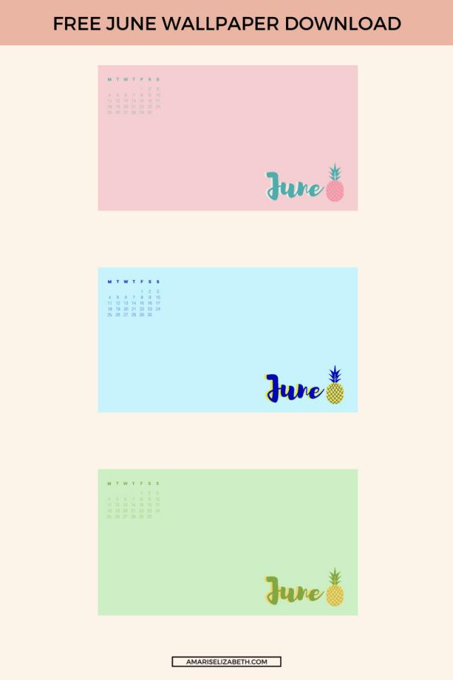 Freebie: June Desktop Wallpaper 2