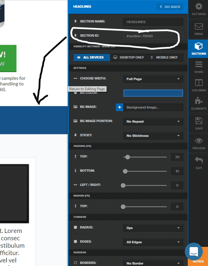 how to add navigation bars to clickfunnels