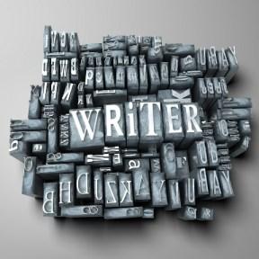 writer typewriter keys