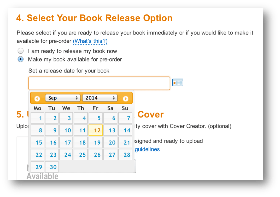 how to put your book on amazon for free