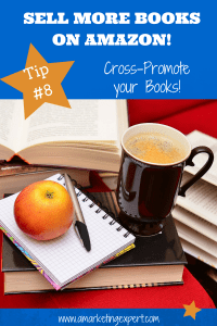 Sell More Books on Amazon Tip 8 Cross-Promote Your Books