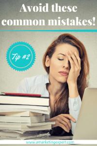 Avoid these common mistakes 2